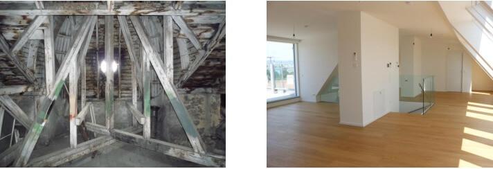 Dachgeschossausbau Wien 3.