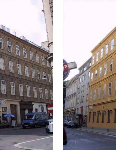 Fassadensanierung Wien 7.