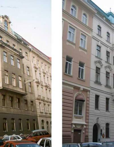 Fassadenwiederherstellung Wien 4.