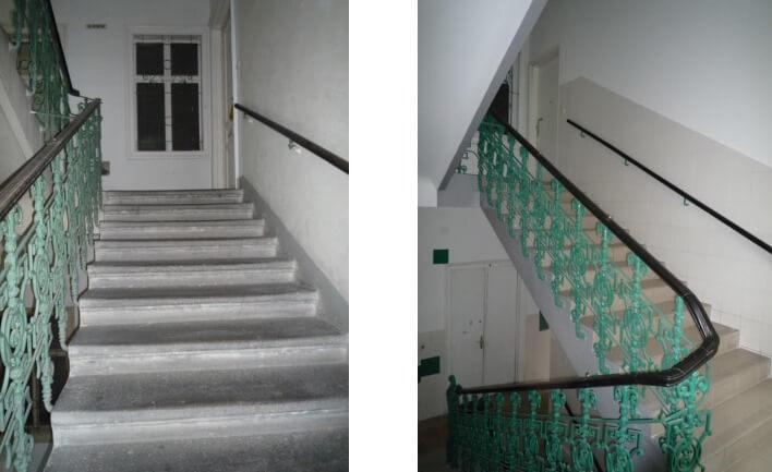 Sanierung Stiegenhaus Wien 2.