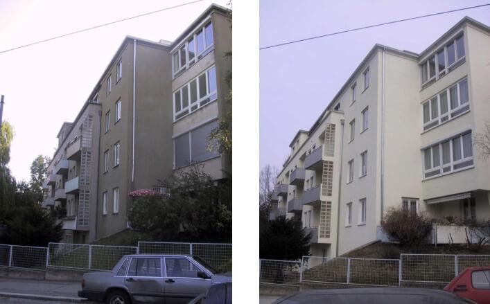 Fassadensanierung Wien 18.