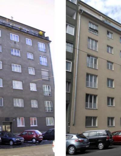 Fassadensanierung Wien 20.